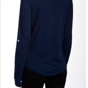 Michael Stars Tops - Michael Stars slub fitted blouse
